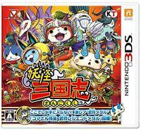 Nintendo 3DS Yo-kai Youkai Yokai Watch Sangokushi F/S w/Tracking# New from Japan