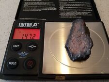 Authentic meteorite Space Fossil Rock Collectible Fragment meteor Lunar Moon #23