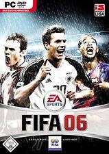FIFA 06 (PC, 2005, DVD-Box) Fussball PC Game EA-SPORTS