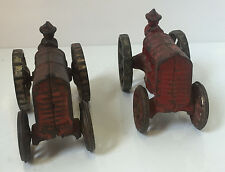Set of 2 1920's Cast-Iron Fordson Toy Tractor No. 273 c1928 Farm Vehicle Rare
