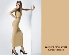 WOLFORD FATAL DRESS • XS • tapioca .... aus exklusivem weichen Velvet Material