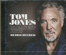 TOM JONES - GREATEST HITS - REDISCOVERED - 2 CD's