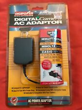 Digipower Digital Camera AC Adaptor ACD-MN-CS Hewlett Packard Minolta Casio. NEW