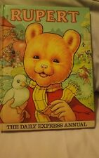 Rupert Daily Express Annual From 1981, Good Condition. 30 + Years Old.