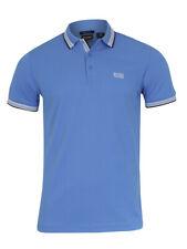 Hugo Boss Men's Paddy Logo Collar Short Sleeve Cotton Polo Shirt