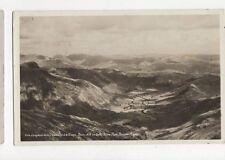 Langdale Valley From Crinkle Crags Vintage RP Postcard 285a