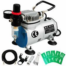 Voilamart Air Brush Compressor Hose Spray Nail Art Kit
