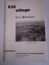 Abbé P. BONIFASSI : EZE - LE NID D'AIGLE DE LA COTE D'AZUR - Alpes Maritimes