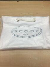 White Vinyl Scoop NYC Bag