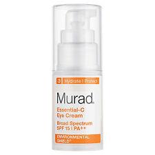 Murad Essential-C Eye Cream SPF15 PA++ 0.5 fl oz / 15mL NIB AUTH Exp 12-2017