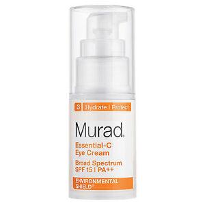 Murad Essential-C Eye Cream SPF15 PA++ 0.5 fl oz / 15mL  AUTH