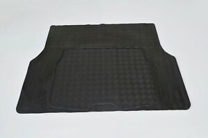 Universal Fit Rugged Rubber Boot Liner Cargo Trunk Mat Heavy Duty All Weather