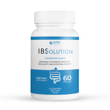 Natural IBS Treatment - IBSolution for Relief of Diarrhea Constipation/Bloating