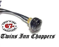 Taster Microtaster Mini Druckknopf schwarz Custom Lenkerschalter Bobber Schalter