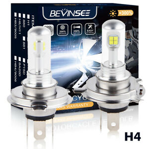 Bevinsee 80W LED Headlight Bulb For Can-Am DS 450 Outlander 400 500 650 800 800R