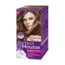 [Schwarzkopf] Perfect Mousse Nude Tones Hair Dye Amonnia Free 5 Piece Kit