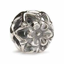 Trollbeads - Silver Bead - Zucchini Flower 11339