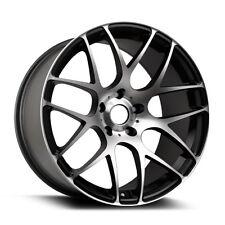 "18"" ARA Wheels Mesh 18x8.5 5x114.3 40 Offset Alloy Rims Machined Black"