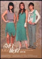 Taiwan S.H.E. SHE Selina Hebe Ella 2004 Taiwan Karaoke DVD FCB085