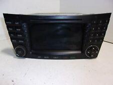 04 MERCEDES E320 RADIO STEREO GPS NAVIGATION NAVI CD PLAYER A2118276342  OEM AS2