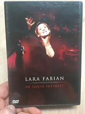 Lara Fabian:En Toute Intimite(UK DVD)Live In Concert 2003 French Singer