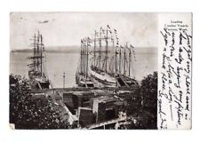 1907 Postcard LUMBER VESSEL TACOMA WA Boat Ship vintage antique photo Postcard