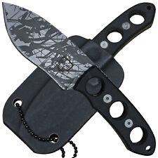 MP9 Neck Knife kleines Ganzstahlmesser G10 Schalen Kydexscheide mit Kugelkette