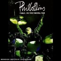 """PHIL COLLINS """"THE FIRST FAREWELL TOUR"""" 2 DVD NEW+"""