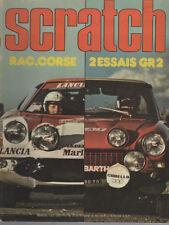 SCRATCH 1975 23 TOUR DE CORSE 74 RAC RALLY 74 ESCORT RS 2000 BMW 3.5 CSL Gr2