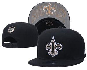 New Era 9Fifty Saints NWT Snapback Hat (Black/Gold/Grey/White) Men's NFL Cap