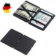 Magische Brieftasche Mini Geldbörse Portemonnaie Leder Magic Wallet Slim DHL