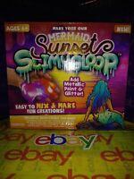 MERMAID SUNSET Slimy Gloop Slime Maker Kids Educational KIT SLIMYGLOOP W PAINT