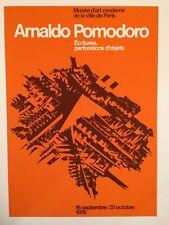 AFFICHE ARNALDO POMODORO 1976