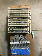 Pre terminated 300 pair 110 block At&T 110Ab2-300Cbm Lucent Avaya 50 Pin Telco