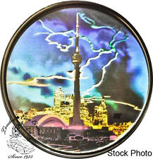 Canada 2006 $20 CN Tower Hologram Silver Coin