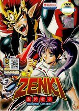 ZENKI Complate ( EP, 1 - 52 End ) DVD TVB Cantonese Version