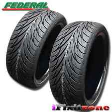 2 Federal SS-595 Tires 245/45R17 95V 240AAA Ultra High Performance 245/45/17 New