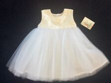 SNAP DRAGON PURE SILK CHRISTENING DRESS FOR AGE 9 MONTHS. RRP $260. BRAND NEW.