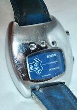 Vintage 1973 Sutton 17J Instalite Jump Hour Digital Watch w/Light Feature Works!