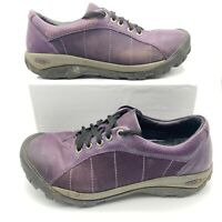Keen Womens Presidio Low Top Lace Up Hiking Sneaker Shoes Purple Size US 10