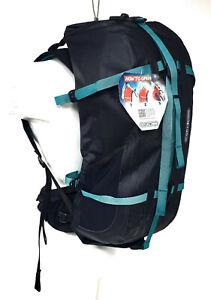 Ortlieb Atrack Waterproof Bicycle Backpack 25L, Black/Aqua Blue