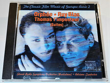 THE CLASSIC FILM MUSIC OF GEORGES AURIC VOLUME 2 Adriano ORPHEE RUY BLAS CD (VG)