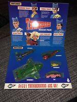 VINTAGE 1992 MATCHBOX THUNDERBIRDS RESCUE PACK VEHICLE SET COMPLETE BOXED