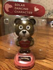 "Solar Powered Dancing Toy New - Valentine's Bear - ""Unbearably Cute"""