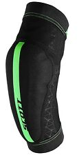 GOMITIERE SCOTT ELBOW GUARDS SOLDIER colore NERO-VERDE FLUO taglia L