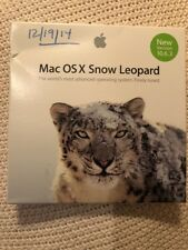 Mac OSX Snow Leopard 10.6.3 Operating System