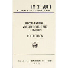 """New U.S. Army Technical Manual """"REFERENCES"""" TM 31-200-1 April 1966 Pages 234"""