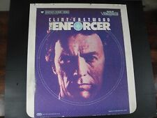 RCA CED Videodisc The Enforcer 1983