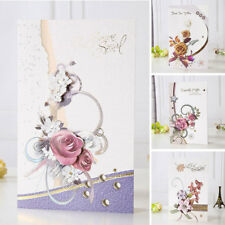 3D Craft Paper Greeting Card Blessing Greeting Message Christmas Birthday Card