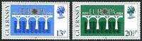 GUERNSEY 1984 EUROPA SET OF BOTH COMMEMORATIVE STAMPS MNH (a)